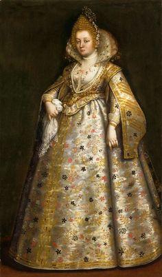 ca. 1630 Lady, probably Pantasilea Dotto Capodilista, by Chiara Varotari (Museo d'Arte Medievale e Moderna - Padua Italy)