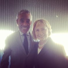 Al Sharpton - Racist Hillary Clinton - Feminist Two of the most horrible people in our nation.