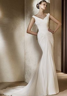 Cheap Mermaid Wedding Dress 1