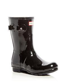 96abb28330f5 Hunter Women s Original Short Gloss Rain Boots Rubber Rain Boots