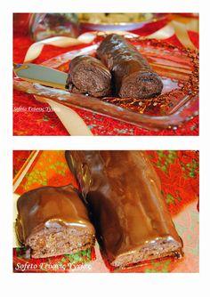 Κορμός σοκολάτας , χωρίς ζάχαρη. Low Carb, Xmas, Sweets, Beef, Sugar, Cooking, Healthy, Ethnic Recipes, Food
