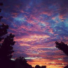 Monday night sunset