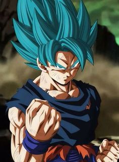 Goku Blue | Dragon Ball Super will end on march :(