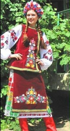 More of Ukrainian outfits, from Iryna with love