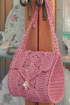 28 Trend Crochet Shoulder Bag, Backpacks And Handbags. Web Page 4 of 28 - - 28 Trend Crochet Shoulder Bag, Backpacks And Handbags. Web Page 4 of 28 - - Purse Patterns Free, Crochet Purse Patterns, Bag Pattern Free, Handbag Patterns, Crochet Pattern, Crochet Handbags, Crochet Purses, Crochet Bags, Free Crochet