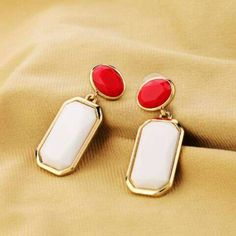 Shopo.in : Buy Acrylic White Earrings online at best price in Hyderabad, India