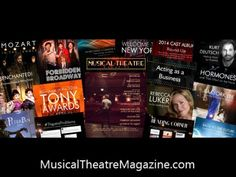 Musical Theatre Magazine - For Anyone Who Wants a Career on Broadway: http://www.MusicalTheatreMagazine.com ~ #Broadway #MusicalTheatre #TheatreThursday #career #college