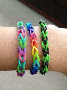 rubber band bracelets!