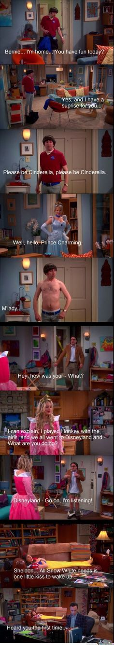 Great Disney moment on BBT
