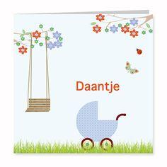 Geboortekaartje Daantje