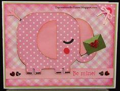 <>< Valentine's Day Cricut Card
