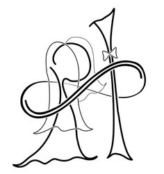 a couples logo.... Our initials are in there :-P