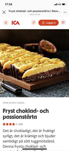 Köstliche Desserts, Delicious Desserts, Party Sweets, Simply Recipes, How To Make Bread, Ice Cream Recipes, Fudge, Sweet Tooth, Food And Drink