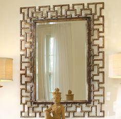 Mélange Fretwork Mirror by Hooker Furniture