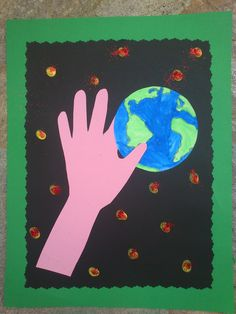 Maros kindergarten: Cute Earth Day Craft
