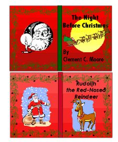 Print Mini Christmas books