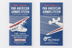 Pre-order(Ships on 11th July) PAN AM x TRAVELER'S notebook Collaboration Refill (grid) by niconecozakkaya on Etsy
