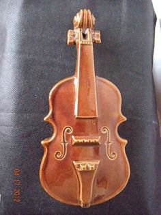 McCoy Violin Wall Pocket Brown EX Condition RARE | eBay