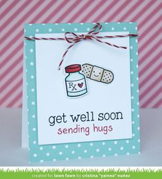 GetWellSoon_CristinaNuñez3 by Lawn Fawn Design Team, via Flickr