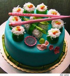 i love japan cake