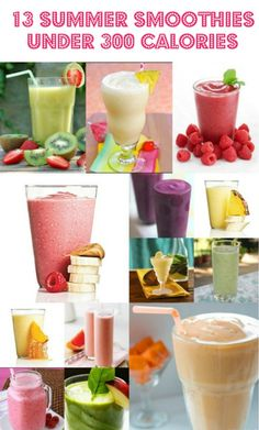 13 Summer Smoothies Under 300 Calories