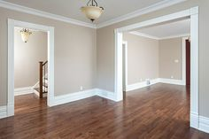 Entryway and Hallway Decorating Ideas Floor main renovation Interior Paint Colors For Living Room, Living Room Paint, Living Room Colors, Home Living Room, Living Room Designs, Living Room Decor, Beige Living Rooms, Interior Painting, Home Room Design