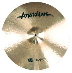 Anatolian Ultimate Series US20HRDE 20-Inch Heavy Ride Cymbal by Anatolian Cymbals. $309.99. Anatolian Ultimate Series Cymbals are Characterized by an Incredible Dynamic Range, Extremely Fast Response and an Explosive Sound Behavior. These Cymbals Prove an Impressive Synthesis of Traditional Handmade Art and Implementation of Innovative Ideas. Through Their Enormous Musicality, a Warm Sound and Balanced Tonal Spectrum, this Series is Universally Applicable.