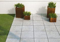 Multiquartz20 - outdoor porcelain thick tiles #Marazzi #ModenaFliser