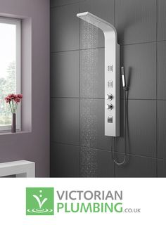 Give Your Bathroom A Sleek Ultra Modern Edge With Stylish Shower Panel