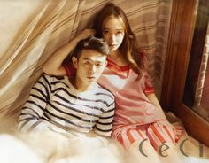 f(x) Krystal Jung Beenzino Etude House Ceci Magazine May 2015 Pictures