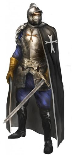 Fantasy Fighter, Fantasy Armor, Medieval Fantasy, Fantasy Character Design, Character Art, Warriors Wizards, Science Fiction, Dark Fairytale, High Fantasy