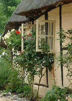 English+Cottage+Windows | ... cottage windows, and the old red telephone kiosk brought back memories