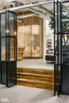 Spring City Spa offers a total concept in the field of (inner) beauty. Right in the heart of the city center of Dordrecht, Spring City Spa is housed. Spring City, Spa Offers, Steel Doors, Door Design, Windows, Corridor, Studio, House, Furniture