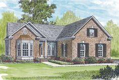 Hampshire House Plan - 1942.really like this one for our empty nester with guest room