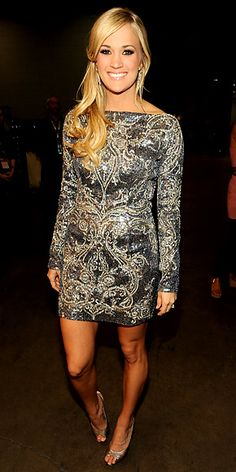 Carrie Underwood...love her, she is AMAZING!!!