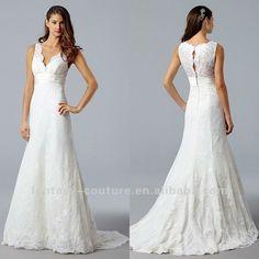 Wedding dress patterns lacey