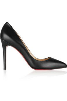 Christian Louboutin The Pigalle 100 leather pumps   NET-A-PORTER