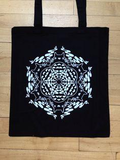 Totoro Mandala Tote Bag  by GraceNeutral on Etsy, £10.00