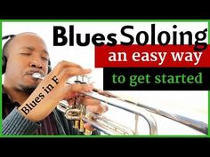 F Blues Soloing: Using a Blues Melody   Jazz Trumpet Lesson - YouTube