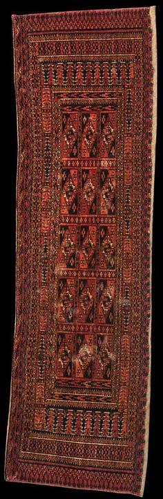 Tekke - Turkmenistan - Größe 121 x 35 cm