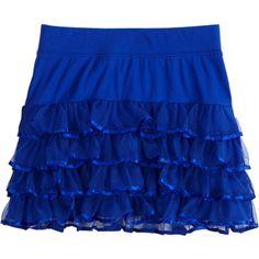 Girls Skirts | Buy Girls Skorts Online | Shop Justice ($40) ❤ liked on Polyvore