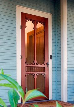 Primrose | Solid Wood Screen/Storm Doors  |  Your new Vintage Door is handcrafted using mortise-and-tenon, time honored, high quality construction methods. There are absolutely no veneers or finger joints in any of our solid wood doors!