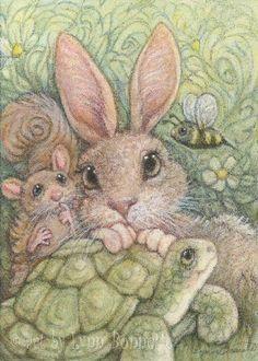 """""""Bee Stories"""" by Lynn Bonnette"""