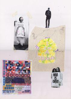 BA Final Collections Archives - Page 2 of 9 - 1 Granary Textiles Sketchbook, Fashion Sketchbook, Art Sketchbook, Fashion Sketches, It's Going Down, Central Saint Martins, A Level Art, Fashion Portfolio, Sketchbook Inspiration