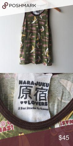Harijuku lovers bananas tank Harijuku lovers bananas tank Harajuku Lovers Tops