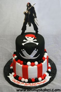 Pirates of the Caribbean Cake Pirate Birthday Cake, Funny Birthday Cakes, Pirate Party, Caribbean Party, Halloween Cakes, Cupcake Cakes, Cupcakes, Creative Cakes, Custom Cakes