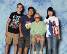 So glad I was able to get this taken   #fanexpo2016  #stanlee
