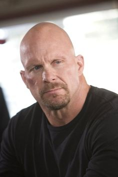 """""""Stone Cold"""" Steve Austin. Yum. And I'm lucky...my man have been told he looks like Steve Austin, even by total strangers. ;) Honestly I don't see the resemblance, but maybe that's because I see him everyday. :D"""