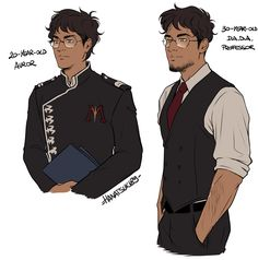 Self-indulgent art means I'm going to put together the professor-Harry AU and the Snape-survives AU *shrugs* Harry Potter Anime, Arte Do Harry Potter, Harry Potter Artwork, Harry Potter Marauders, Harry Potter Drawings, Harry Potter Facts, Harry Potter Love, Harry Potter Universal, Harry Potter Characters