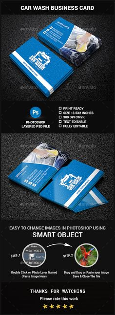 Car Wash Business Card Examples Of Cards Elegant Free